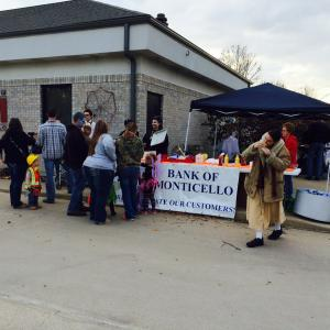 The Kahoka Branch hosted a Customer Appreciation Day and the annual Halloween Party.  October, 2014